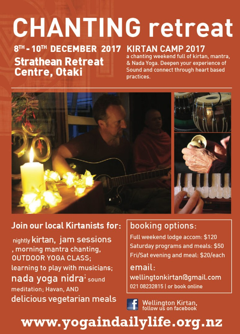 chanting retreat 2017